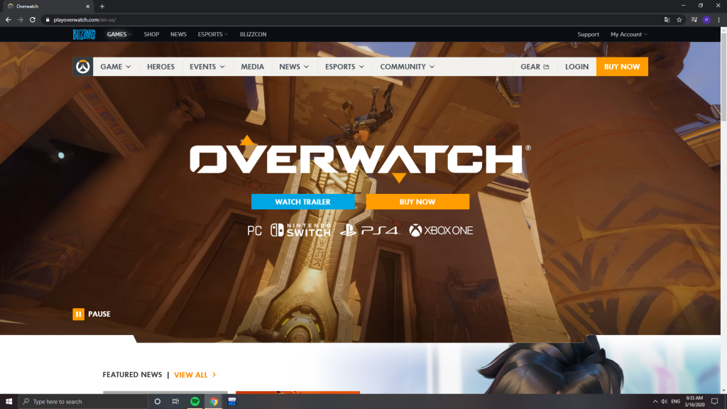 overwatch link game online free